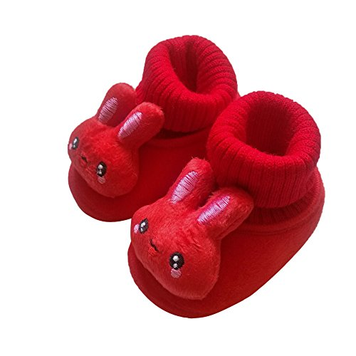Chaussure Bébé Chaussures Chaudes Bottes De Neige Bottes Bébé Souple Premiers Pas Chaussons Semelle Douce Imprimer Chaussons Bottes Chaud Souple Mignon Coton Prémarche Chaussures Binggong