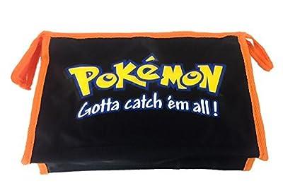 Pokemon - Bolsa de Aseo Negro Negro