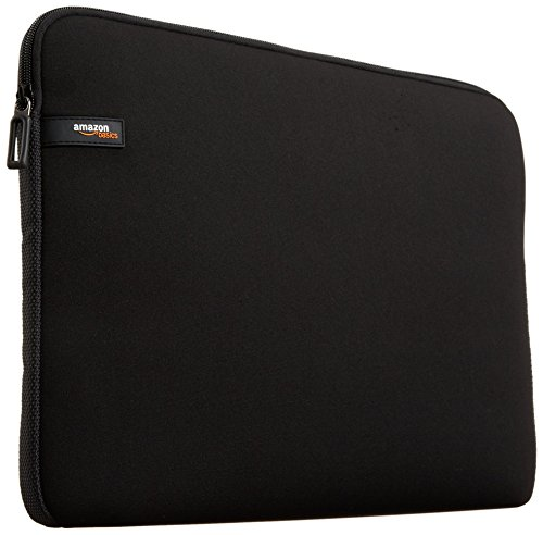 "AmazonBasics Housse pour MacBook Air / MacBook Pro / MacBook Pro Retina / ordinateur portable 33,8 cm (13.3"") Noir"