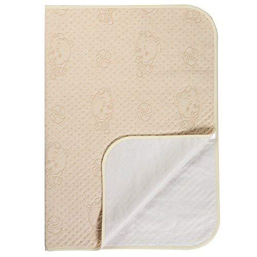 Sábana impermeable lavable y resistente al agua – Protector de colchón de incontinencia para bebés y niños adultos