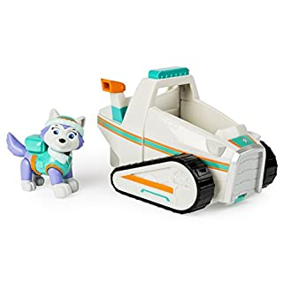 Nickelodeon Paw Patrol Everest's Rescue Snowmobile, Vehicle and Figure