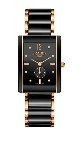Roamer Ceraline Saphira Women's Watch with Ceramic Bracelet 690855 48 59 60