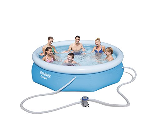 Bestway 57270 - Piscina hinchable Fast Set con anillo hinchable y depuradora...