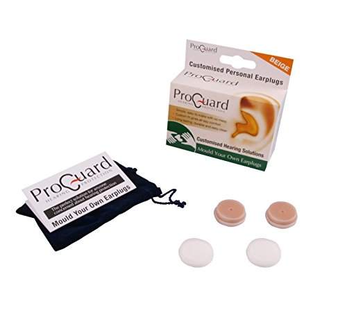 Proguard Ohrstöpsel können individuell geformt werden beige