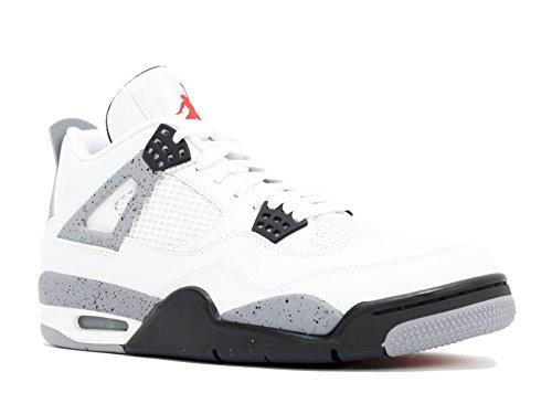 Nike Air Jordan 4 Retro 'White Cement 2012 Release' - 308497-103 - Size 11.5 - - Retro 4 Cement
