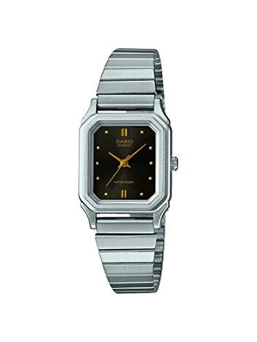 Casio Damen-Armbanduhr Analog Quarz Edelstahl LQ-400D-1AEF