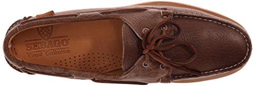 Sebago Men's Crest Dockside Boat Shoe brown