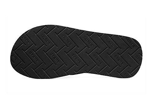 ALUK- Sommer Sandalen - Casual Anti-Rutsch Männer bequeme Verschleiß-resistenten Hausschuhe Strand Schuhe ( Farbe : Weiß , größe : 42 ) Weiß