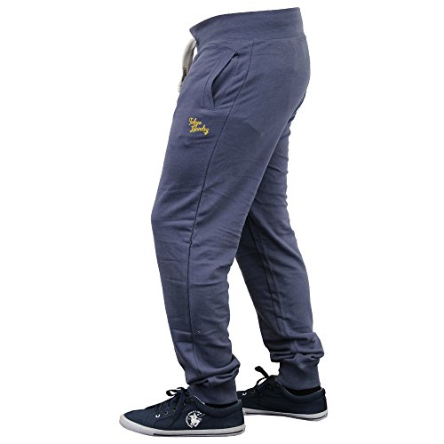Homme Coupe Slim Bas De Jogging By Tokyo Laundry Indigo - 1F7755