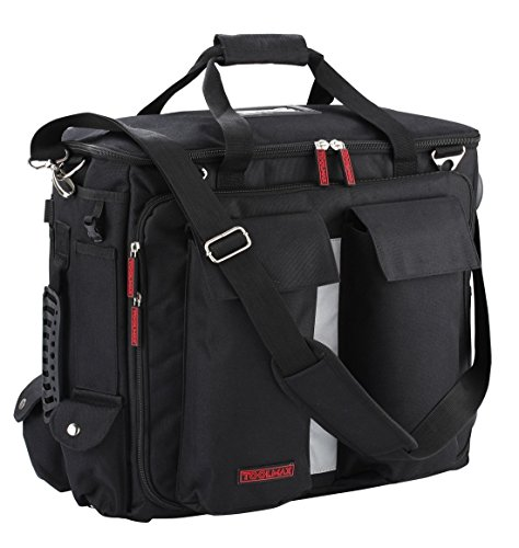 ToolMax mochila de herramientas ligera (negro)