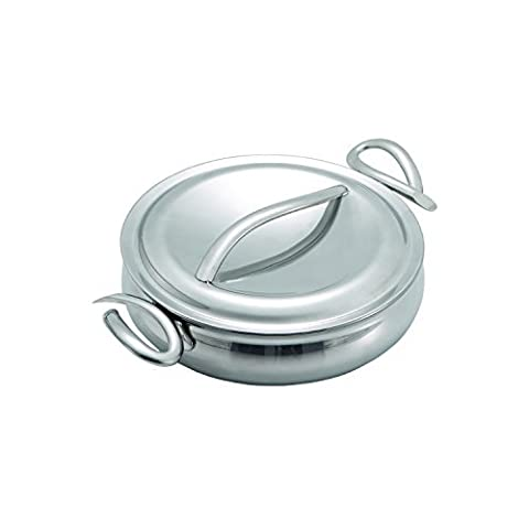 Nambe MT0559 CookServ Try Me 8-Inch Saute Pan with Lid by Nambe