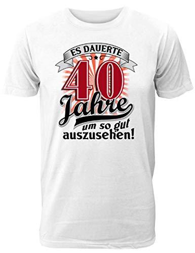 Partner Bester Kostüm Freund - Geburtstag T-Shirt Es dauerte 40 Jahre um so gut auszusehen - Geschenk zum 50. Geburtstag