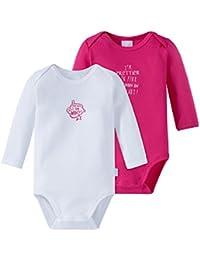 Schiesser Baby Girls' Bodysuit Pack Of 2