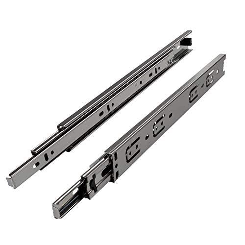 SOTECH 1 Paar Vollauszüge KV2-45-H45-L250-NF 250 mm (eingeschoben) Schubladenschiene mit 45 Kg Tragkraft