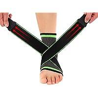 Easy-topbuy Ankle Wrap Knöchelstütze Knöchelbandage Stretchgewebe mit Druckschutz, für Yoga, Volleyball preisvergleich bei billige-tabletten.eu