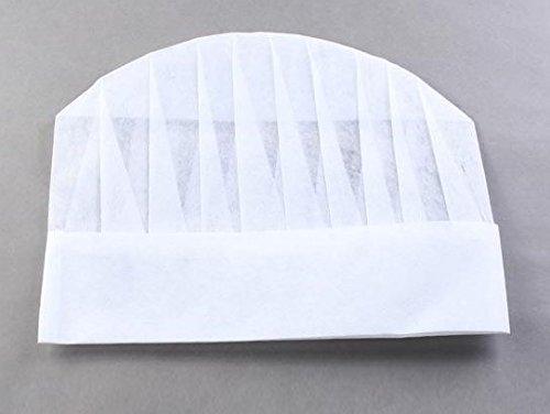 toque-de-chef-papier-x10-hauteur-235-cm