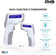 DNS Infrared Thermometer with LCD Display, Quick 1 second Speed Measurement, Accurate Temperature Measurement