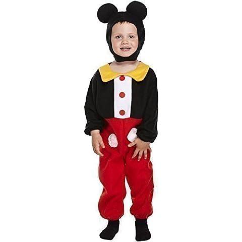 Chico Chica Infantil Mickey Mouse Día Del Libro Disfraz 3 años