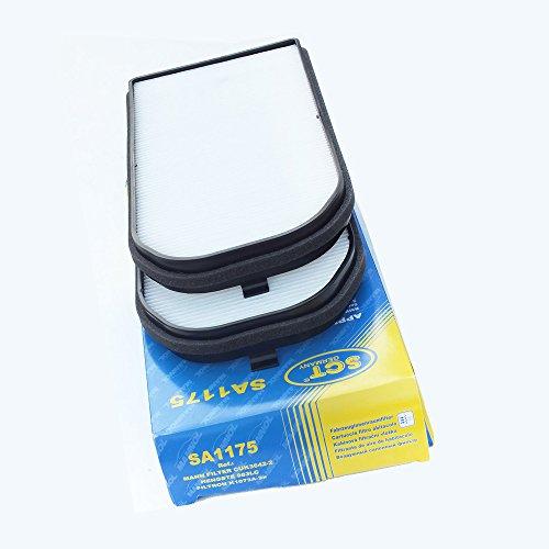 Preisvergleich Produktbild SCT Germany Innenraumfilter SA1175 Mikrofilter (2er Set)
