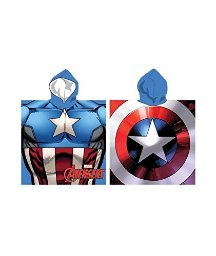 Poncho de bain AVENGERS Captain America
