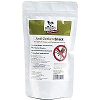 Dogs-Heart Anti-Zecken Snack (150g) für Hunde - Biologische Abwehr gegen Zecken, Flöhe und Milben - Auch für Welpen geeignet
