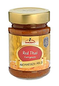 "Sanchon Currypaste ""Red Thai"" (190 g) - Bio"