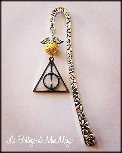 Segnalibro Harry Potter Boccino d'Oro Doni della Morte