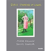 Girls Standing on Lawns