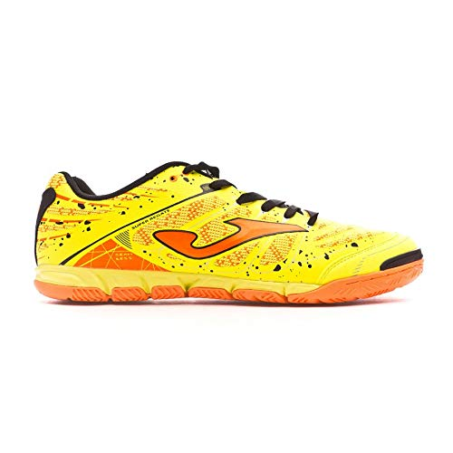 Joma SUPER REGATE 709 FLUOR INDOOR - Scarpa Calcio a 5 Uomo - Five a size Men's - SREGS.709.IN (42.5)