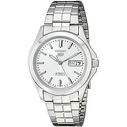 Seiko Herren-Armbanduhr XL Automatik Analog Edelstahl beschichtet SNKK87K1