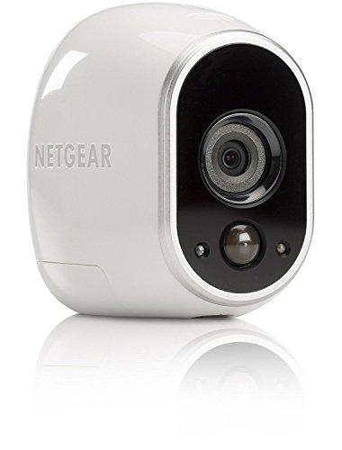 41e53UrolfL [Bon Plan Netatmo] Arlo - Caméra additionnelle HD 100% sans Fil, Vision Nocturne, Etanche Intérieure/Extérieure - Compatible avec systèmes Arlo, Arlo Pro et Arlo Pro 2 l VMC3030-100EUS