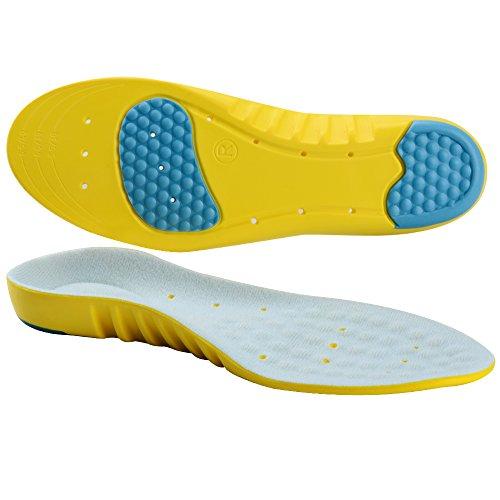 Soumit-Ultra-Soffice-Antiurto-Sport-Solette-M-EU-38-41-Comfort-Traspirante-Unisex-Solette-con-Sostegno-DellArco-Plantare-Eccellente-Assorbimento-Degli-Impatti-per-Correre-Jogging-Riduce-I-Affaticament