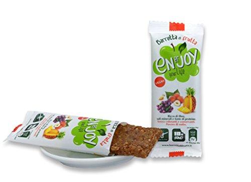 Enerjoy - 16 barrette da 35g di frutta secca e disidratata