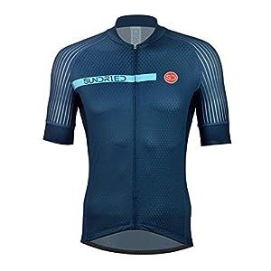 41e55a8f0VL. SS300 Sundried Mens PRO Manica Corta Ciclismo Maglia Bici Camicia del Ciclo di Usura per Road Bike Mountain Bike