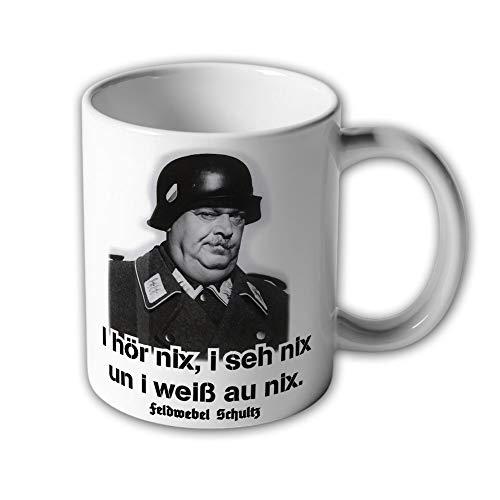 Tasse Feldwebel Schultz ein Käfig voller Helden TV Kult Humor Zitat #30577 -