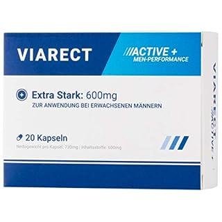 VIARECT - Für erwachsene Männer | Hochdosiert | Kraftvolle Unterstüzung