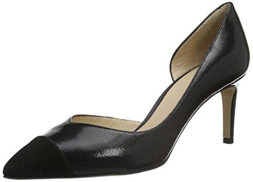 Hugo Bellie 10191387 01, Escarpins Femme Noir (Black 001)