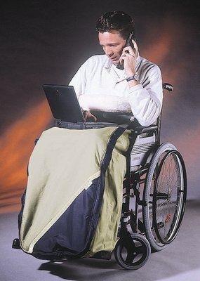 Schlupfsack Webpelz Erwachsene titan-marine (Pellis), Rollstuhl-Zubehör Rollstuhl Titan