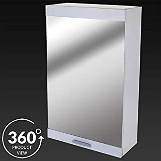 Generic URNITURE DOOR WHITE TE WOOD STORAGE CUPBOARD BATHROOM WALL CABNET BATHROOM WOOD STORAGE NGLE MI SINGLE MIRROR ABNET CUPBOARD FURNITURE