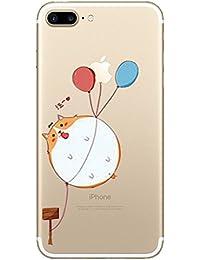 Teryei® Funda iPhone 7 Plus / 8 Plus Silicona TPU Carcasa [Ultra Slim]