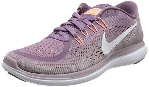 Nike Damen Flex 2017 RN Sneaker, Violett (Violet Dust/White-Plum Fog-Ice Lilac), 39 EU