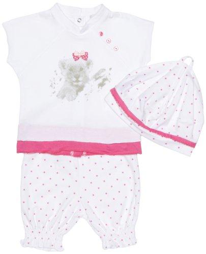 3 Pommes Mädchen Hose Gr. 12-18 Monate, Weiß - Weiß -