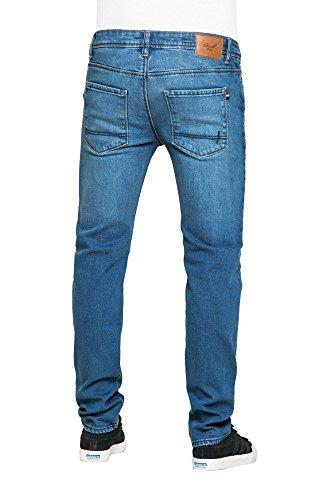 REELL Men Jeans Skin 2 Artikel-Nr.1100 - 1048 Blaublau