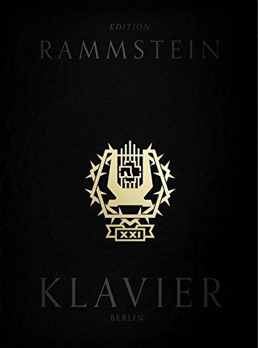 Rammstein: XXI Notenbuch Klavier - Deutsche Ausgabe inklusive CD