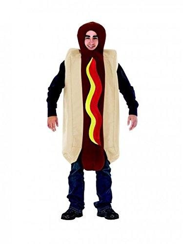 HotDog Kostüm Ganzkörperkostüm Hot Dog, Größe:One (Anzug Dog Hot)
