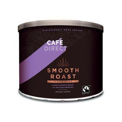 Cafe Direct Classics Instant Coffee Fairtrade Medium Roast Tin 500g Ref A02900 from Caf Direct