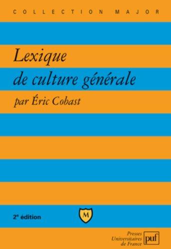 Lexique de culture générale