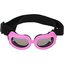 Anself - Profesional Gafas de Sol para Perros Gatos Pequeños de Protección Solar, A Prueba de UV / Niebla / Viento /Agua