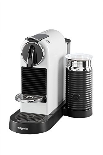 Magimix 11319 Nespresso Citiz and Milk Coffee Machine, 1870 W, White
