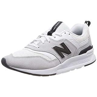 New Balance Damen 997H Sneaker, Weiß (White/Black), 38 EU
